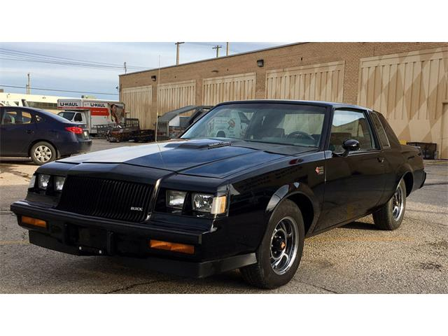 classic buick grand national for sale on 36 available. Black Bedroom Furniture Sets. Home Design Ideas