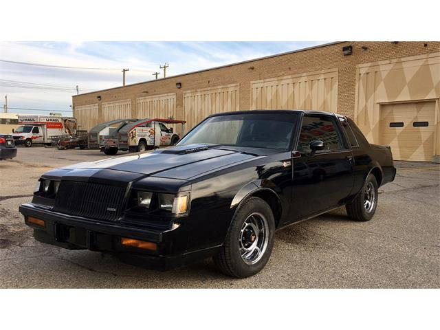 1987 buick grand national for sale on 30 available. Black Bedroom Furniture Sets. Home Design Ideas