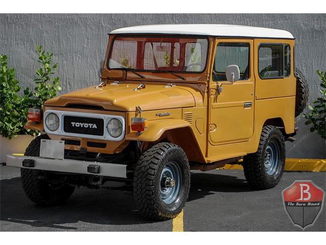 classic toyota land cruiser for sale on 102 available. Black Bedroom Furniture Sets. Home Design Ideas