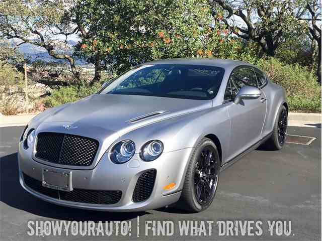 2010 Bentley Continental Supersports | 923760