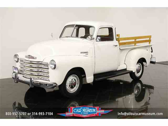 1950 Chevrolet Deluxe 3100 5-Window Pickup | 923846
