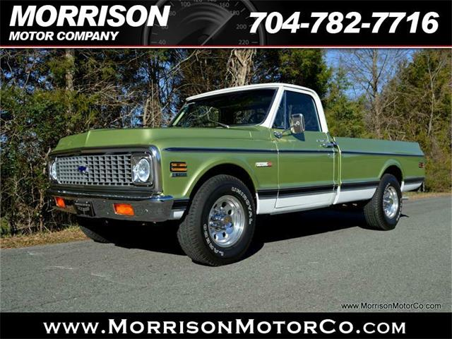 1972 Chevrolet C K 20 For Sale Cc 923928