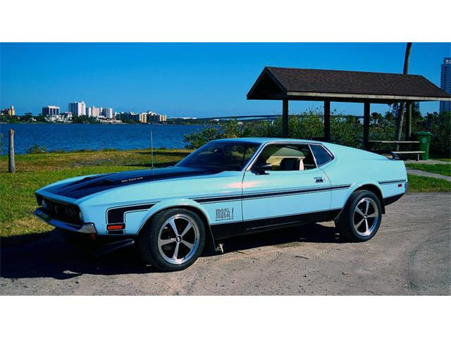 1971 Ford Mustang Mach 1 | 924114