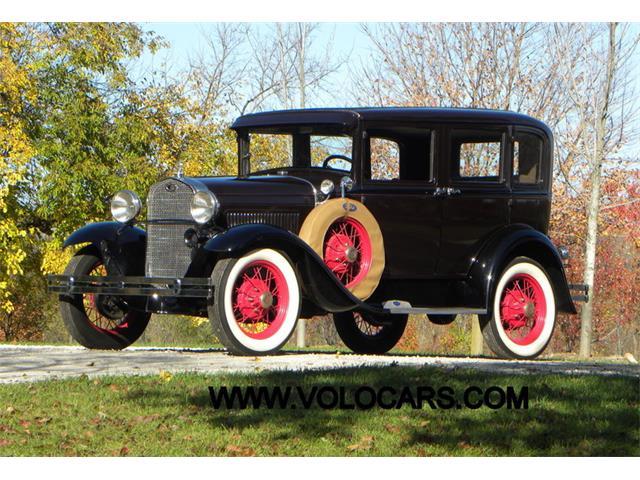 1931 Ford Model A 4 Dr Briggs Sedan | 920431