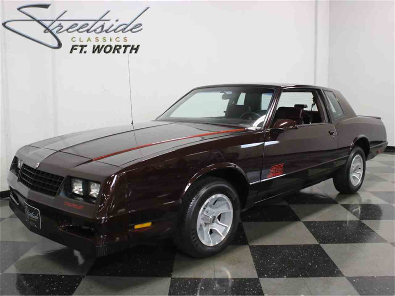 1988 chevrolet monte carlo ss for sale cc 924731. Black Bedroom Furniture Sets. Home Design Ideas