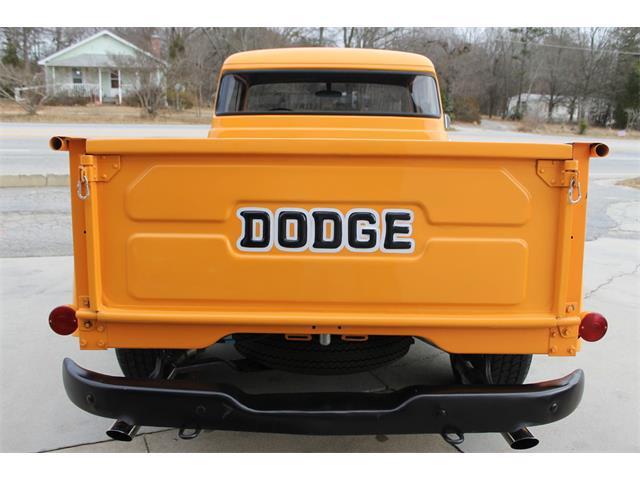 1956 dodge c series half ton pickup truck for sale cc 924903. Black Bedroom Furniture Sets. Home Design Ideas