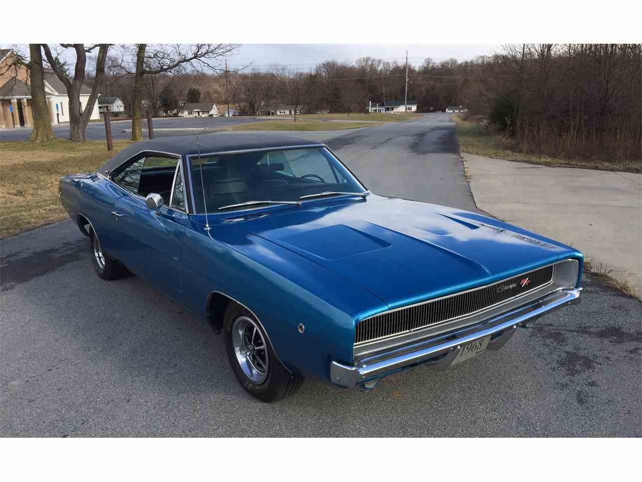 1968 dodge charger for sale cc 924951. Black Bedroom Furniture Sets. Home Design Ideas