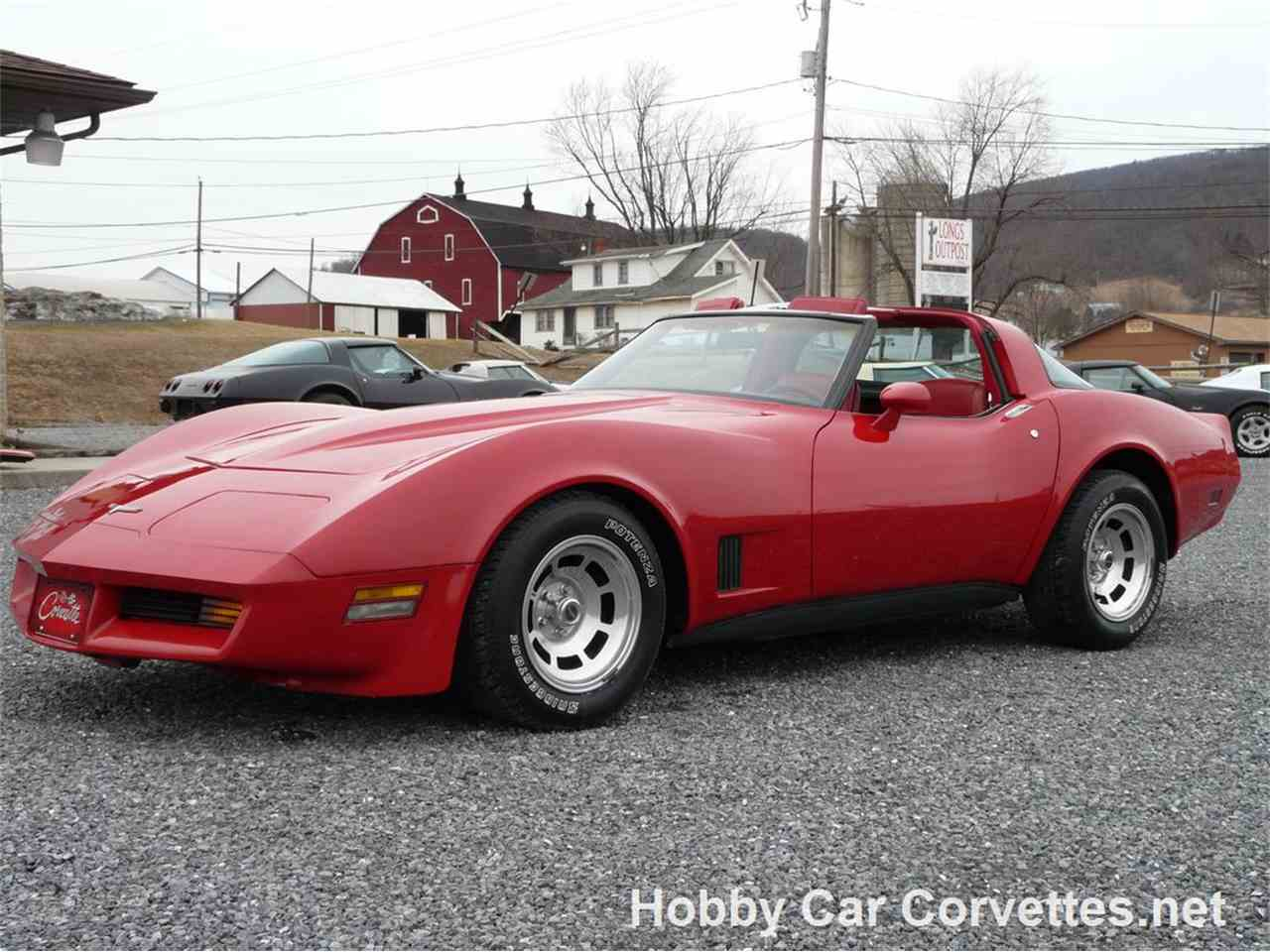 Large Picture of '81 Corvette located in martinsburg Pennsylvania - $17,999.00 Offered by Hobby Car Corvettes - JTPK