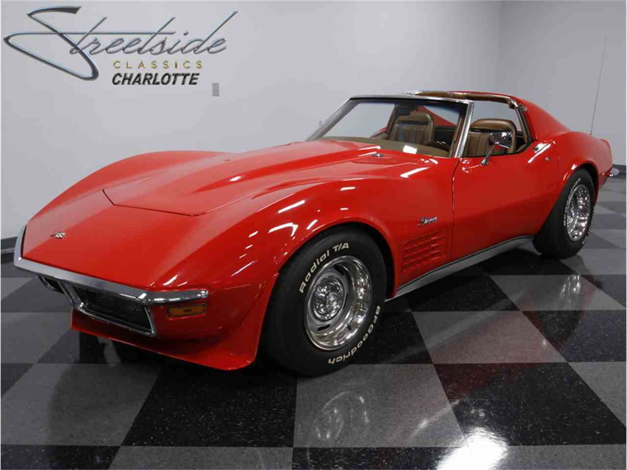 Large Picture of 1972 Chevrolet Corvette located in Concord North Carolina Offered by Streetside Classics - Charlotte - JTQU