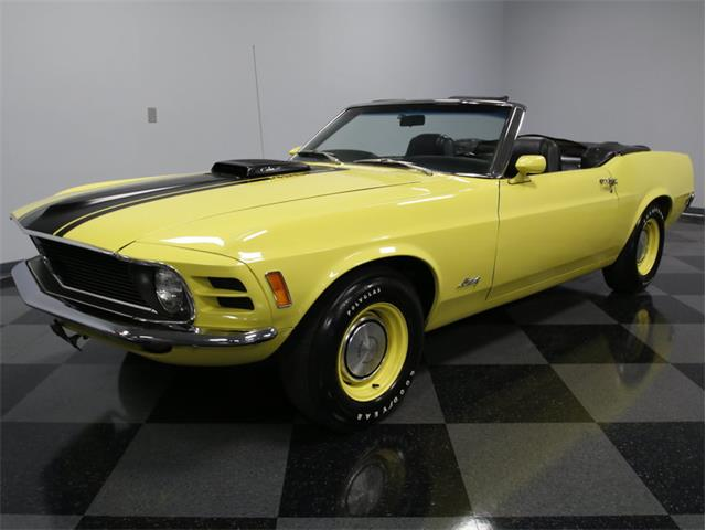 1970 Ford Mustang Q Code Cobra Jet Convertible | 925016