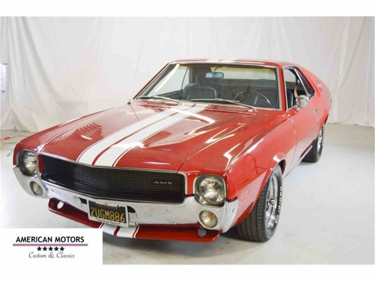 1968 amc amx for sale cc 925100. Black Bedroom Furniture Sets. Home Design Ideas