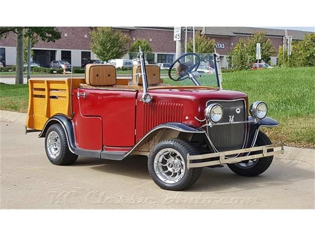 1932 Ford 32 Ford Pickup Golf Cart Pickup replica Removable Hardtop | 925325