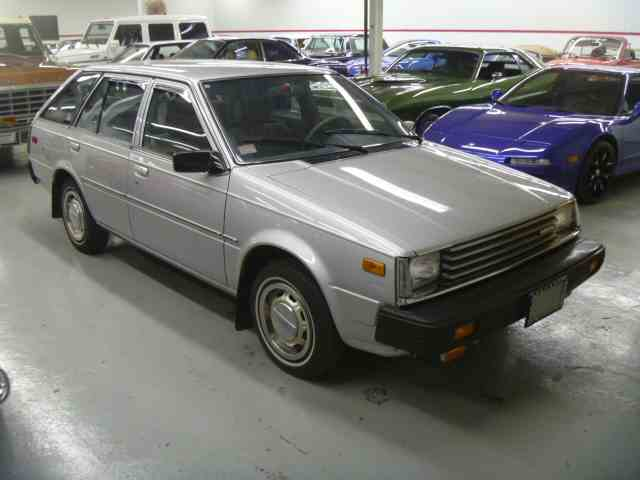 1983 Nissan Sentra wagon  | 920579