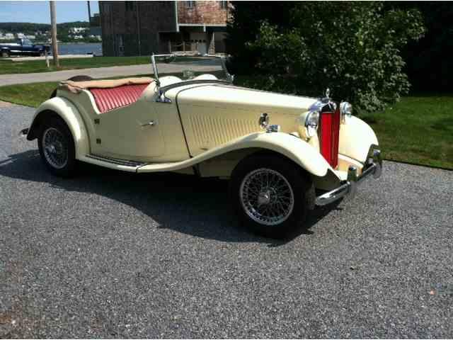 1952 MG TD   920593
