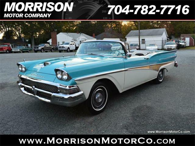 1958 Ford Fairlane 500 Retractable Conv | 926177