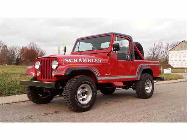 1985 Jeep CJ8 Scrambler | 926395