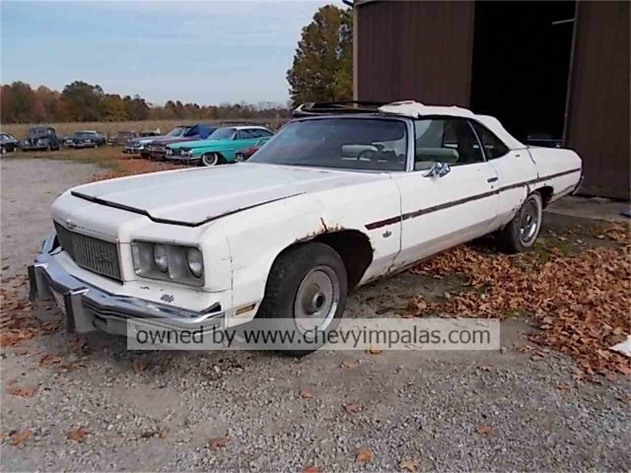 Impala 1976 chevy impala : 1974 to 1976 Chevrolet Caprice for Sale on ClassicCars.com