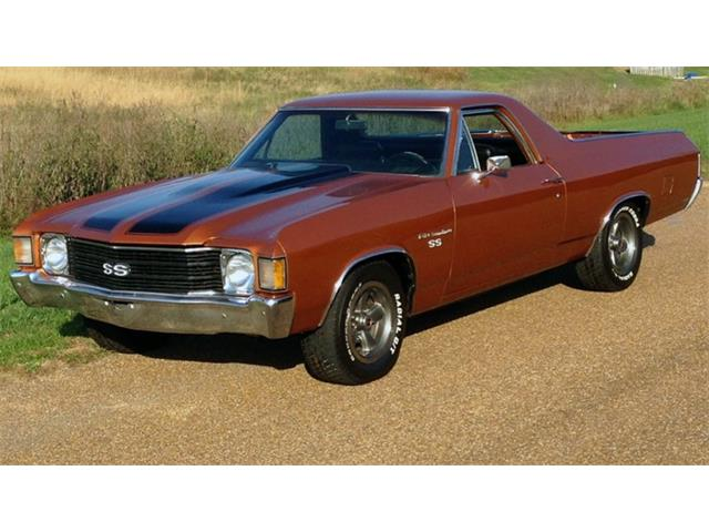 1972 chevrolet el camino for sale on 23. Black Bedroom Furniture Sets. Home Design Ideas