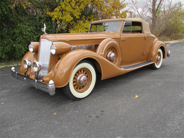 1936 Packard 1404 Super Eight Coupe Roadster | 927386