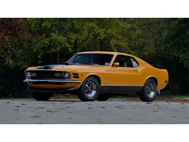 1970 Ford Mustang Mach 1 | 927654
