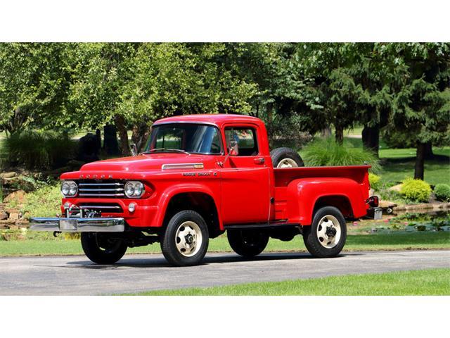 1958 Dodge Power Wagon W100   927743