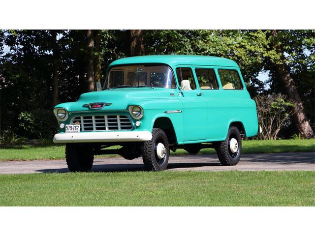 1955 Chevrolet Suburban Napco | 927746