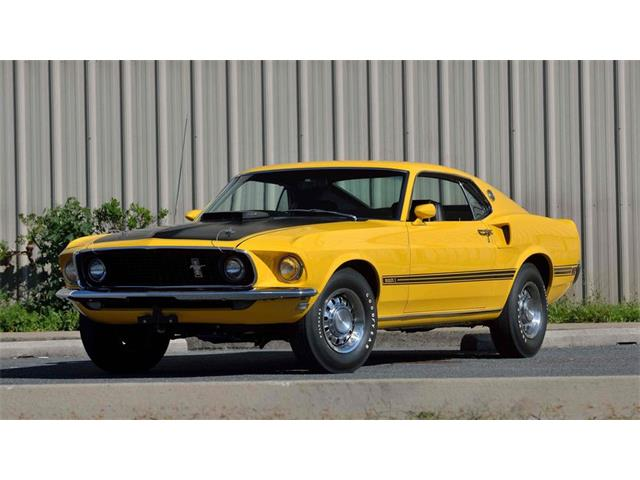 1969 Ford Mustang Mach 1 | 927922
