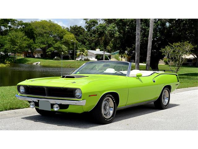 1970 Plymouth Barracuda   928338