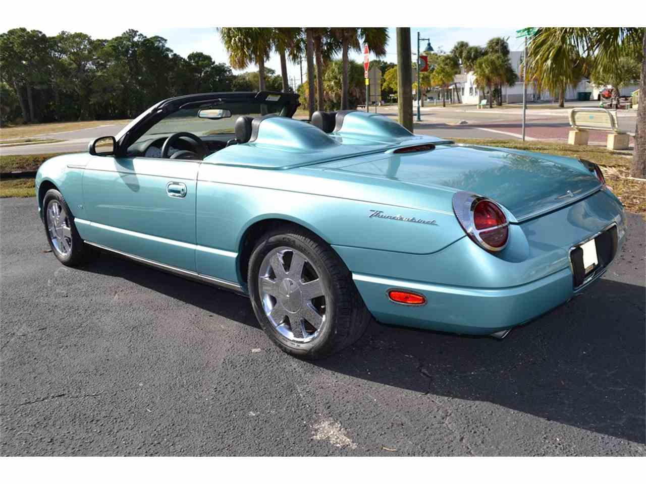 2002 ford thunderbird for sale cc 928364. Black Bedroom Furniture Sets. Home Design Ideas