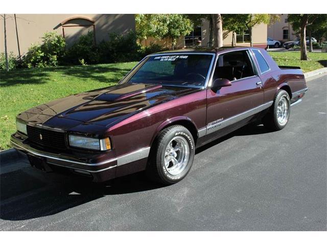 1986 Chevrolet Monte Carlo | 928466