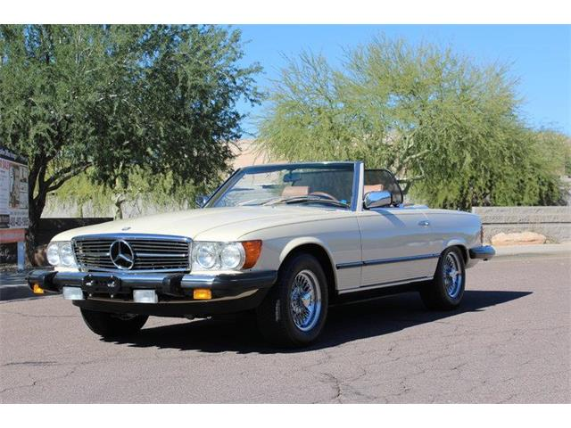 1982 Mercedes-Benz 380SL | 928560