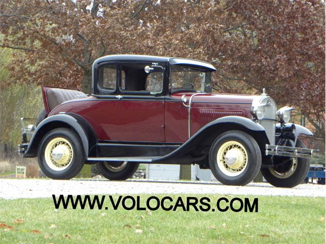 1930 Ford Model A Rumble Seat Coupe   928702