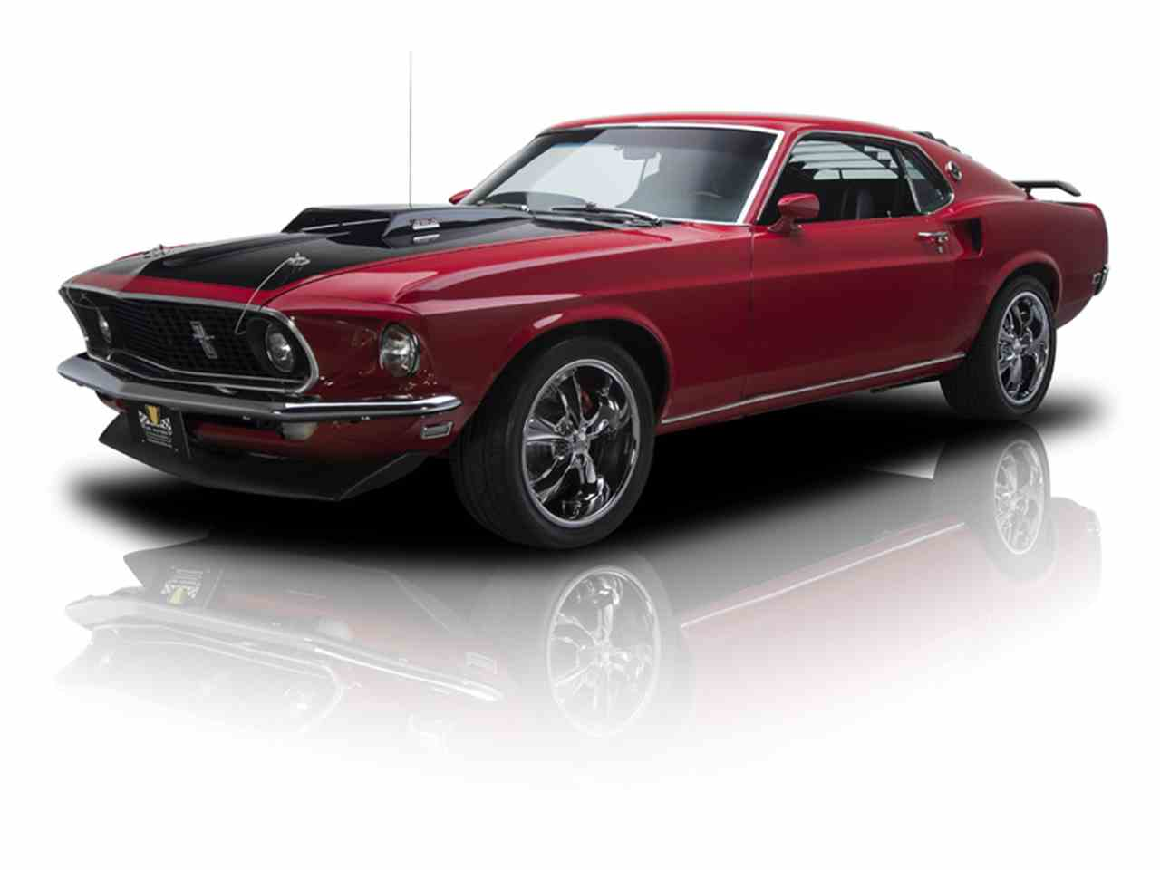 1969 ford mustang mach 1 for sale cc 928707. Black Bedroom Furniture Sets. Home Design Ideas