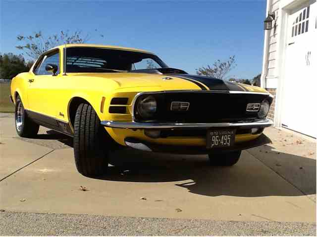 1970 Ford Mustang Mach 1 | 928716