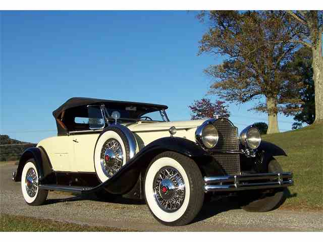 "1931 Packard Model 840 - Deluxe Eight ""Sport Roadster 