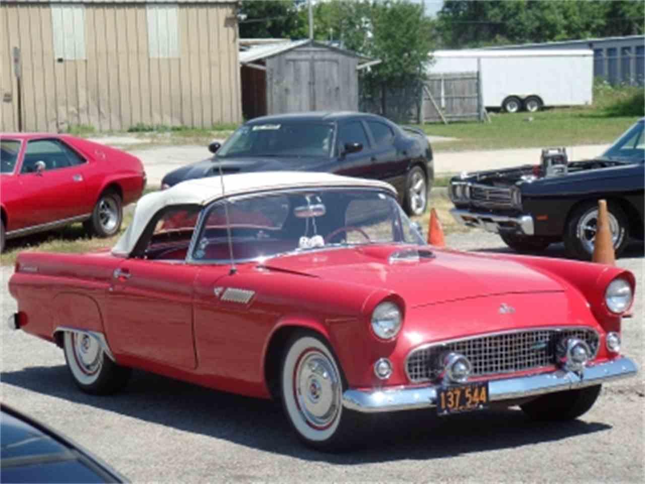 1955 ford thunderbird for sale cc 928756. Black Bedroom Furniture Sets. Home Design Ideas