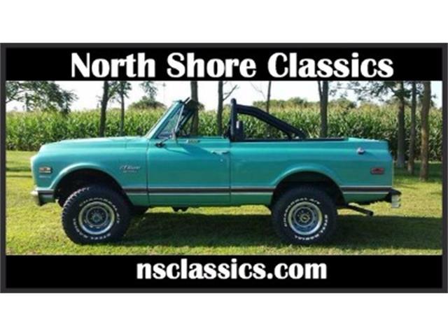 1970 Chevrolet Blazer   928758