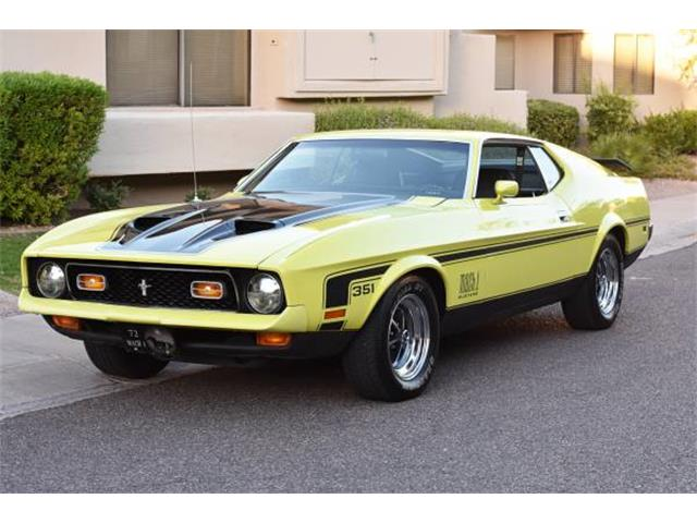 1972 Ford Mustang Mach 1 | 928771