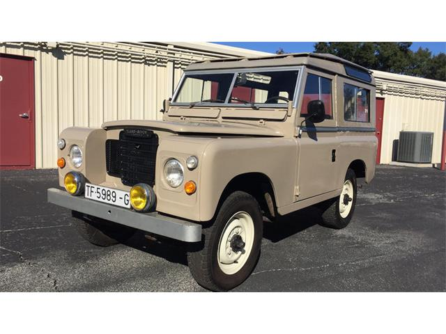 1977 Land Rover Series IIA | 929210