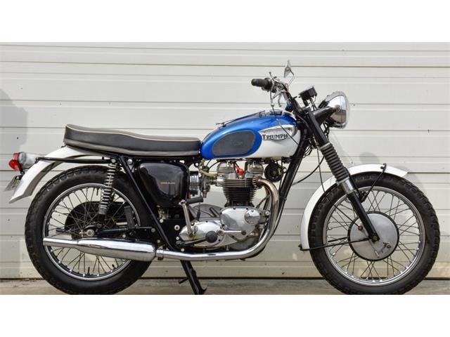 1966 Triumph Motorcycle   929458
