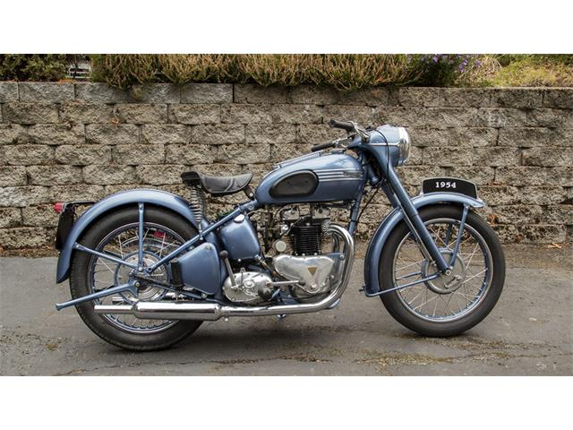 1954 Triumph Motorcycle | 929658