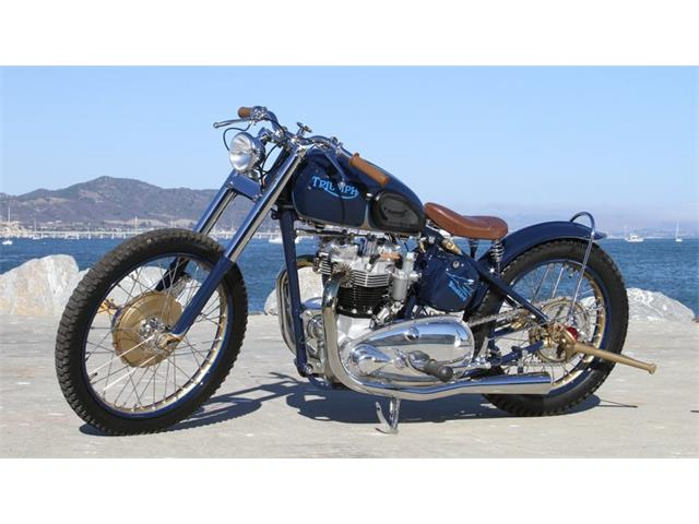 1952 Triumph Motorcycle | 929697