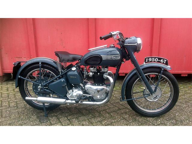 1950 Triumph Motorcycle | 929839