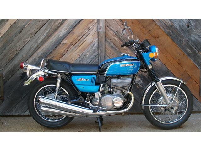 1972 Suzuki GT550   929947