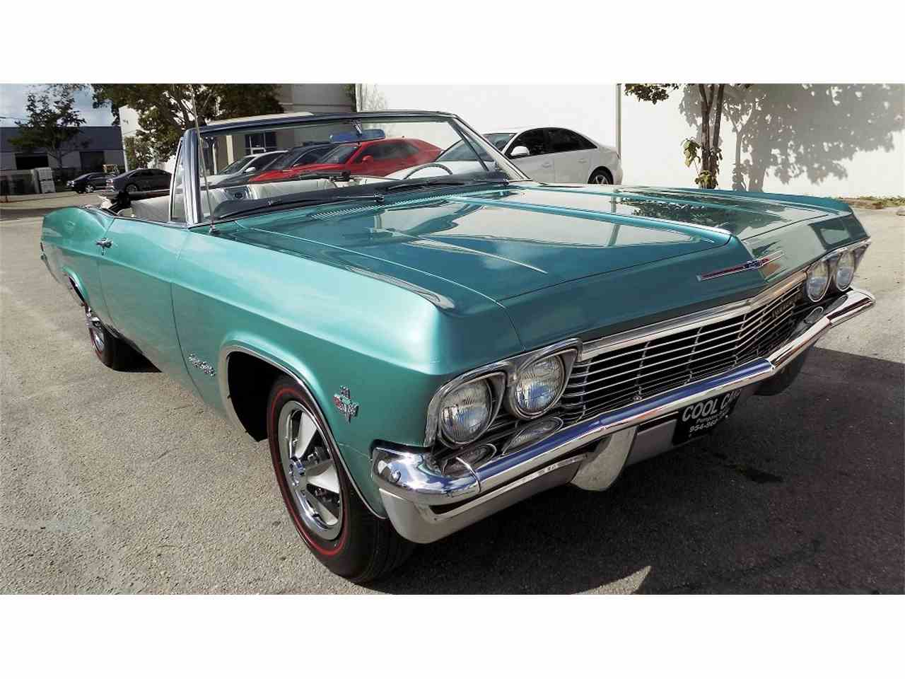 1965 chevrolet impala ss for sale cc 931022. Black Bedroom Furniture Sets. Home Design Ideas
