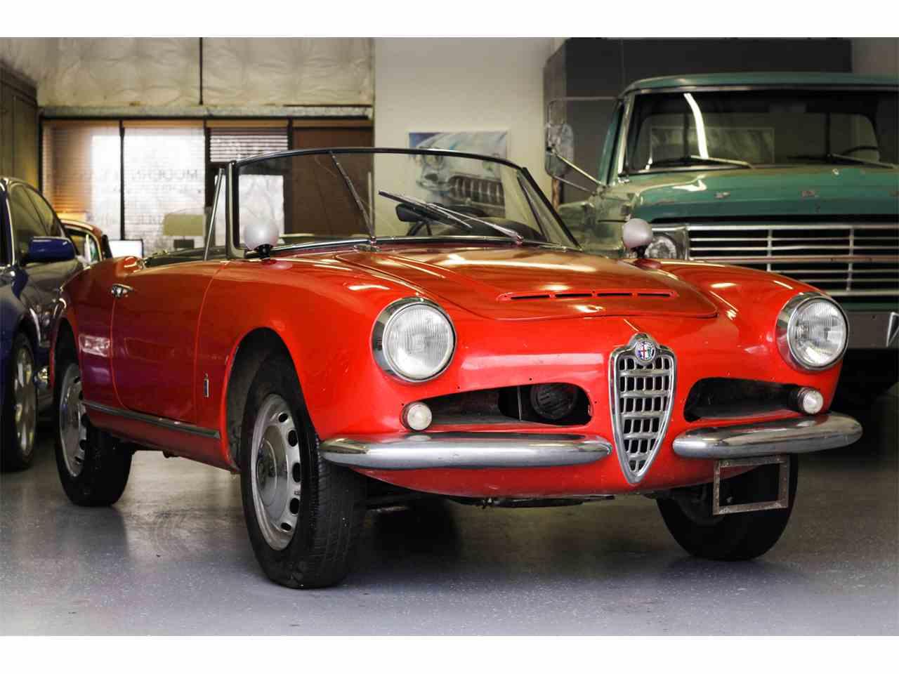 1965 Alfa Romeo Giulietta Spider for Sale | ClassicCars.com | CC ...