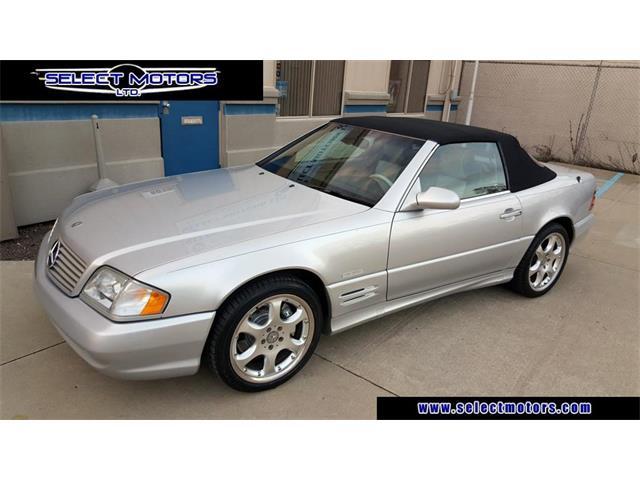 2002 Mercedes-Benz SL-Class | 931171