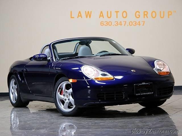 2001 Porsche Boxster   931293