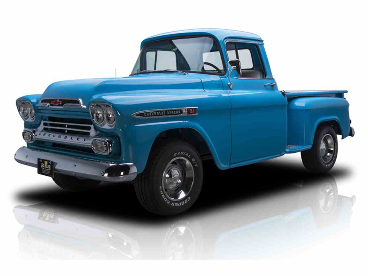 Truck 56 chevy truck : 1957 to 1959 Chevrolet Apache for Sale on ClassicCars.com