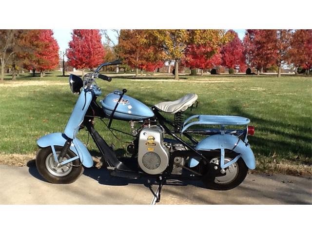 1956 Cushman Motorcycle   931830